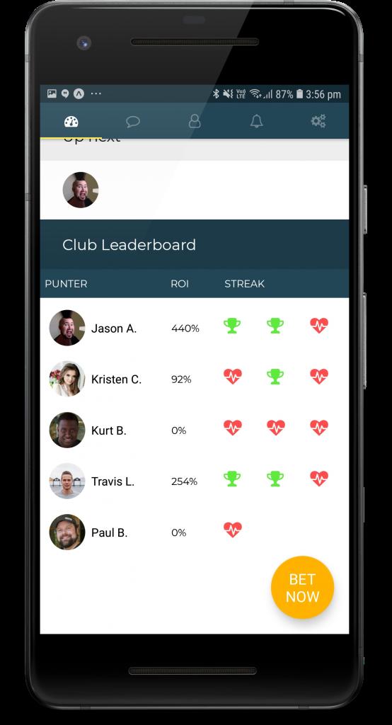Club Leaderboard